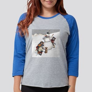 Cats in the Snow Long Sleeve T-Shirt