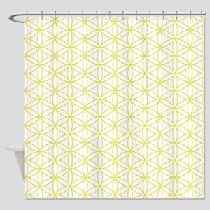 Flower of Life Ptn YW Shower Curtain