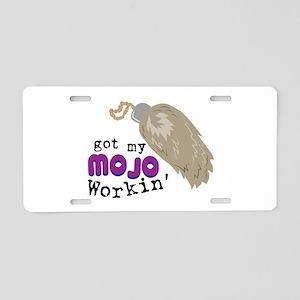 My Mojo Aluminum License Plate