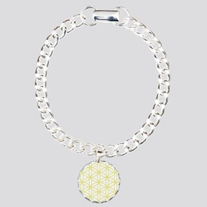 Flower of Life Big Ptn YW Charm Bracelet, One Char