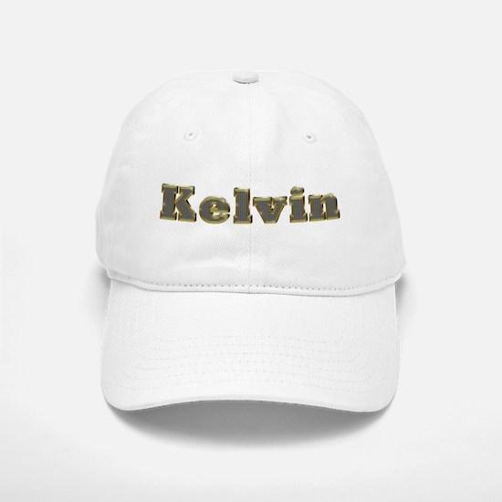 Kelvin Gold Diamond Bling Baseball Baseball Baseball Cap