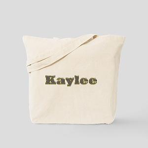 Kaylee Gold Diamond Bling Tote Bag