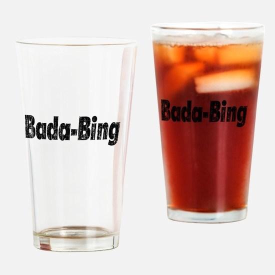 Bada-Bing Drinking Glass