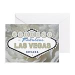 White Rose WEDDING in Las Vegas Cards 10