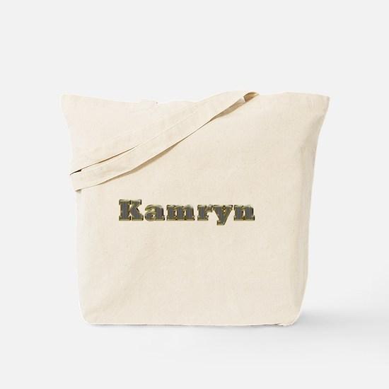 Kamryn Gold Diamond Bling Tote Bag