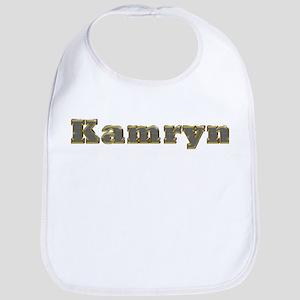 Kamryn Gold Diamond Bling Bib