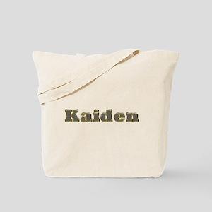Kaiden Gold Diamond Bling Tote Bag