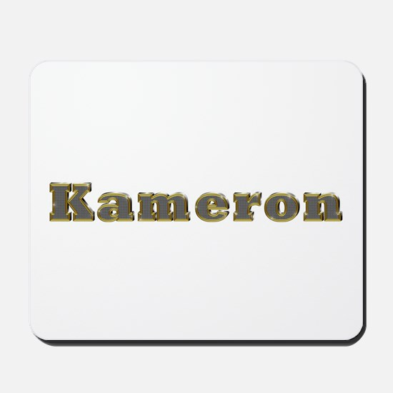 Kameron Gold Diamond Bling Mousepad