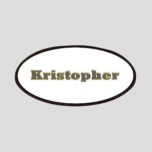 Kristopher Gold Diamond Bling Patch