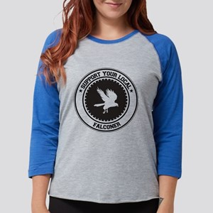 Support Falconer Long Sleeve T-Shirt