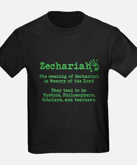 The Meaning of Zechariah T-Shirt