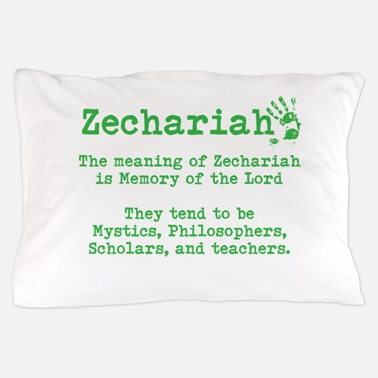The Meaning of Zechariah Pillow Case