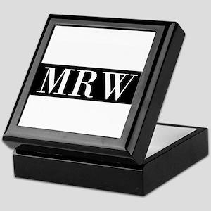Your Initials Here Monogram Keepsake Box
