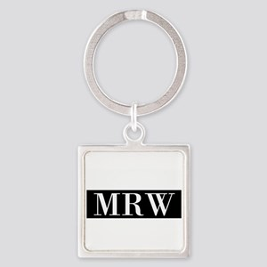Your Initials Here Monogram Keychains