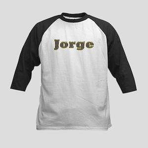 Jorge Gold Diamond Bling Baseball Jersey
