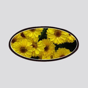 yellow mums Patch