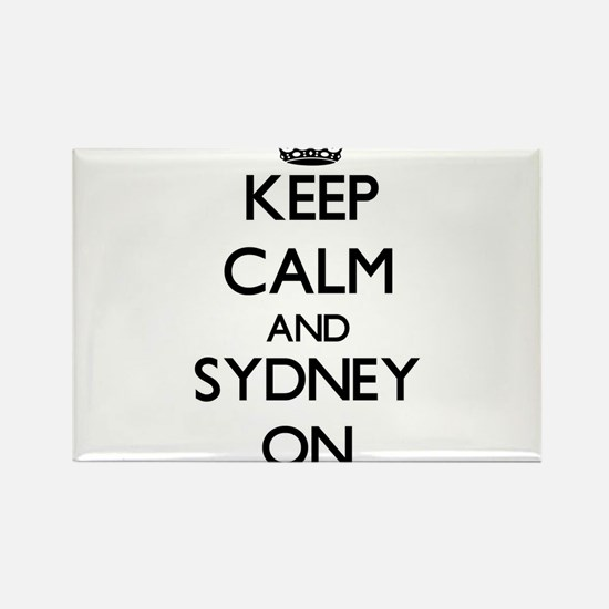 Keep Calm and Sydney ON Magnets