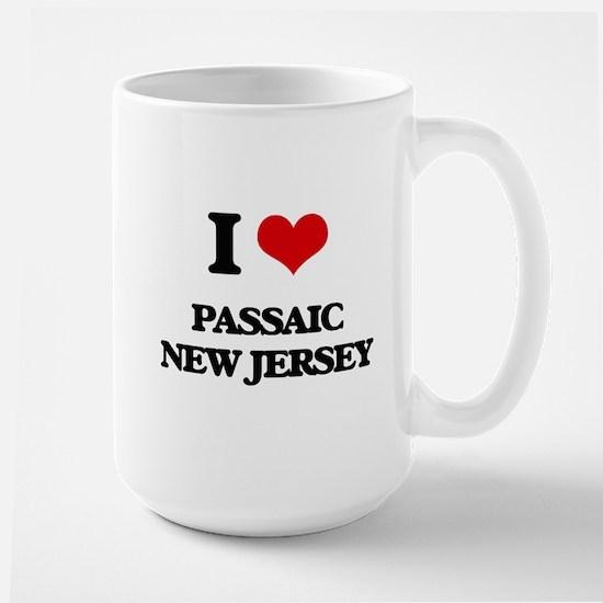 I love Passaic New Jersey Mugs