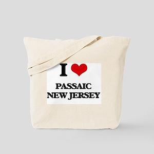 I love Passaic New Jersey Tote Bag