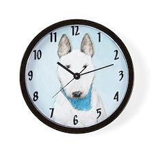 Bull Terrier Wall Clock