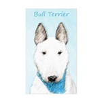 Bull Terrier Sticker (Rectangle 50 pk)
