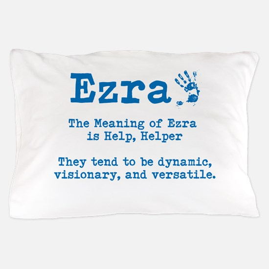 The Meaning of Ezra Pillow Case