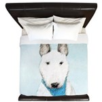 Bull Terrier King Duvet