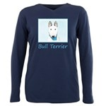 Bull Terrier Plus Size Long Sleeve Tee