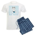 Bull Terrier Men's Light Pajamas