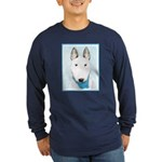 Bull Terrier Long Sleeve Dark T-Shirt