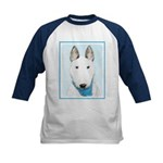 Bull Terrier Kids Baseball Tee