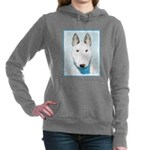 Bull Terrier Women's Hooded Sweatshirt
