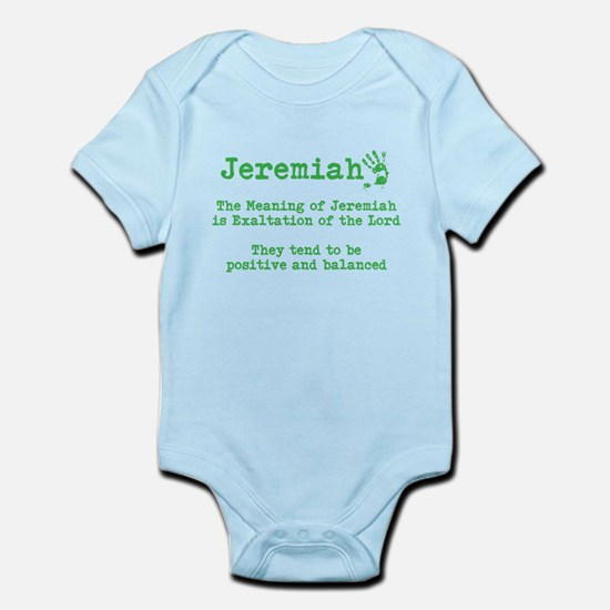 The meaning of Jeremiah Body Suit