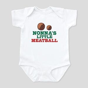 Nonna's Little Meatball Baby Light Bodysuit