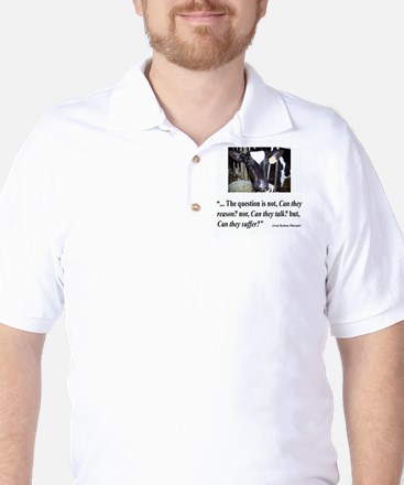 Can they suffer? Golf Shirt