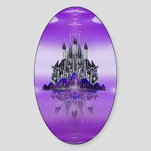 Glass Palace Oval Sticker