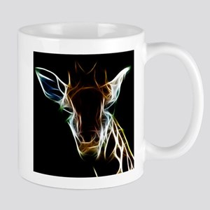 Abstract Giraffe Mug