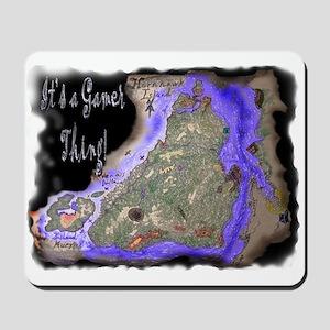 HornHawk Island Mousepad