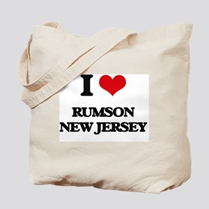 I love Rumson New Jersey Tote Bag