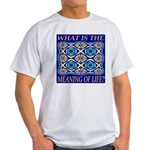 What Is The Meaning Of Life? Light T-Shirt