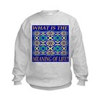 What Is The Meaning Of Life? Kids Sweatshirt