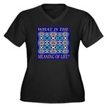 What Is The Meaning Of Life? Women's Plus Size V-N