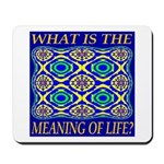What Is The Meaning Of Life? Mousepad
