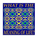 What Is The Meaning Of Life? Tile Coaster
