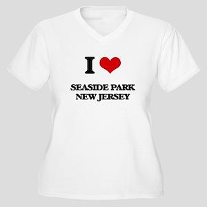 I love Seaside Park New Jersey Plus Size T-Shirt