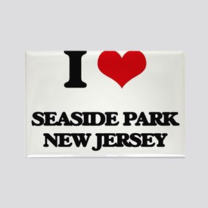 I love Seaside Park New Jersey Magnets