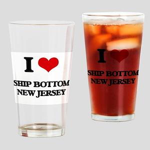 I love Ship Bottom New Jersey Drinking Glass