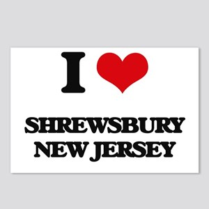 I love Shrewsbury New Jer Postcards (Package of 8)