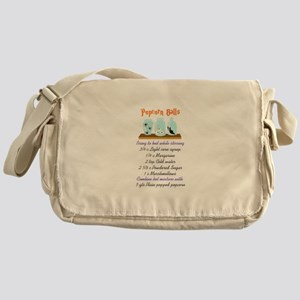 POPCORN BALL RECIPE Messenger Bag