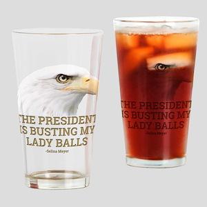 VEEP: Lady Balls Drinking Glass
